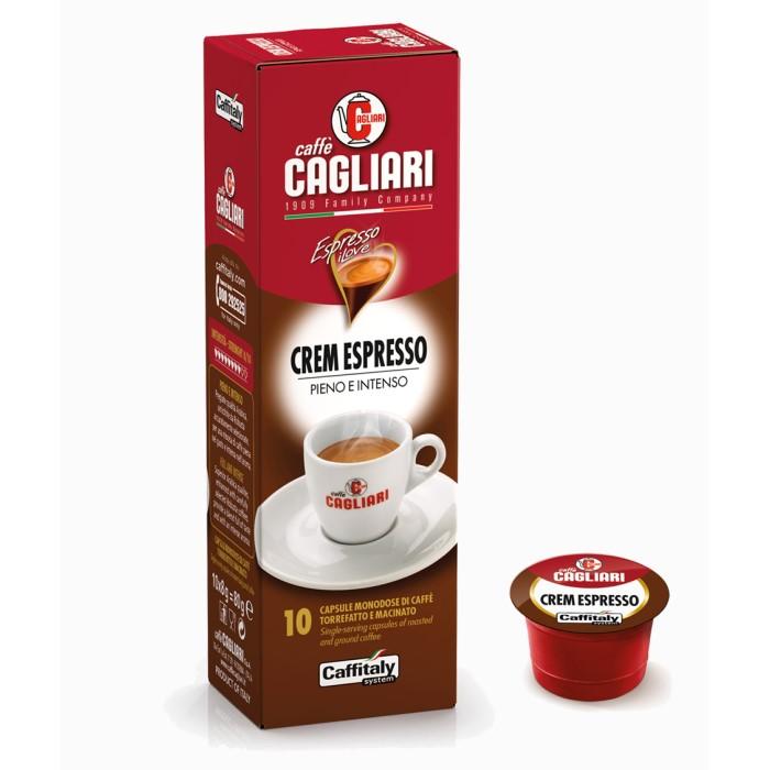 Crem Espresso Cagliari Caffitaly 10 capsule