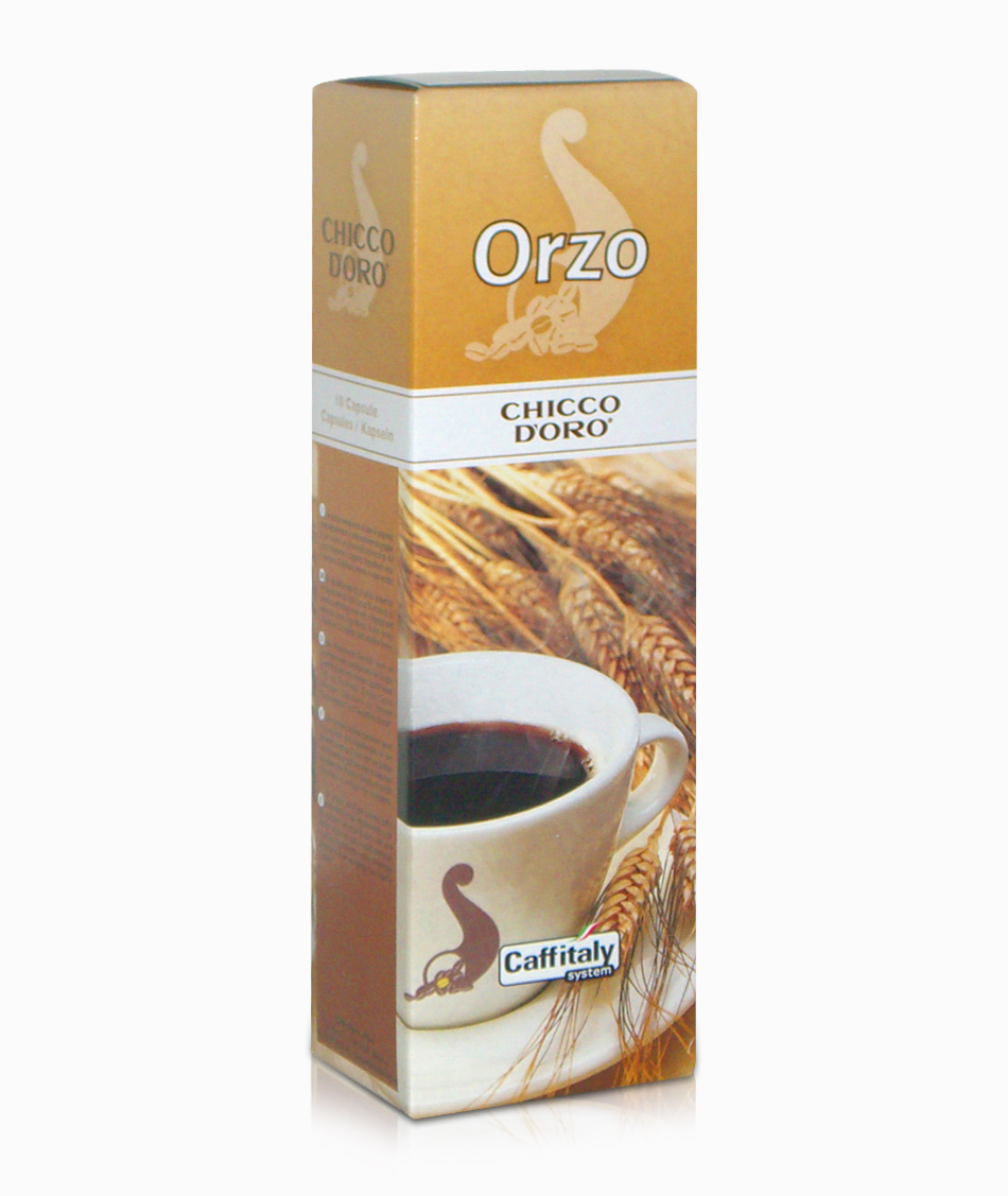 Orzo Chicco d'Oro 10 capsule Caffitaly