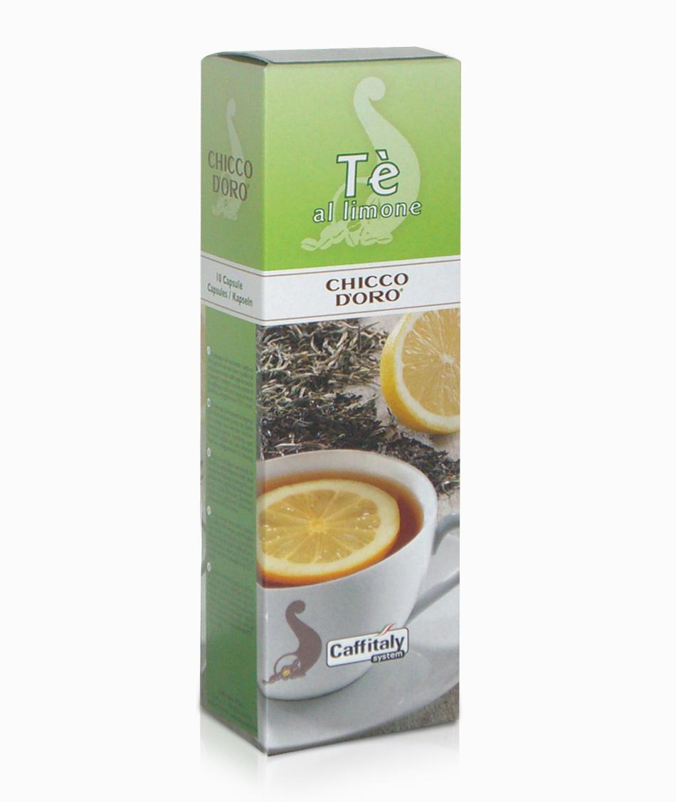 Tè al limone Chicco d'Oro 10 capsule Caffitaly