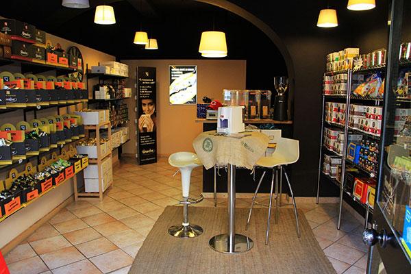 Interno Caffè Giannoni - Vendita capsule Grosseto